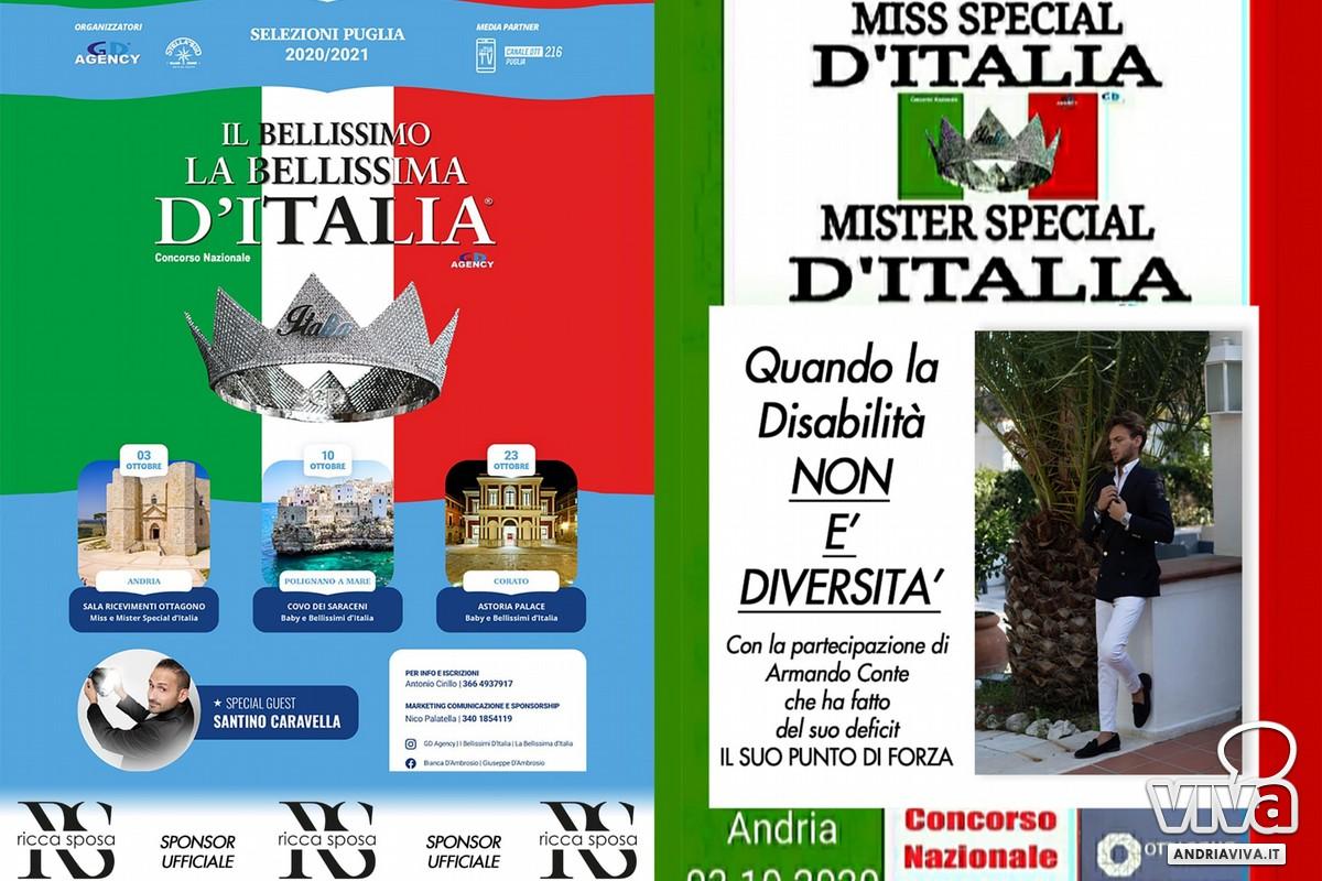 Andria Ospitera La Prima Tappa Del Concorso Regionale Disabili Miss Special D Italia Mister Special D Italia Disabilita