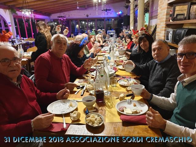 31 Dicembre 2018 Associazione Sordi Cremaschi1