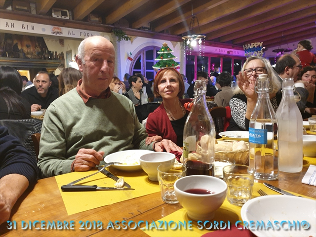 31 Dicembre 2018 Associazione Sordi Cremaschi12