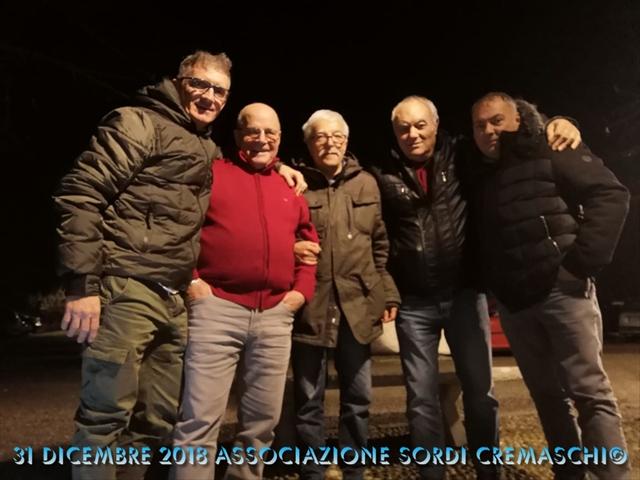31 Dicembre 2018 Associazione Sordi Cremaschi22