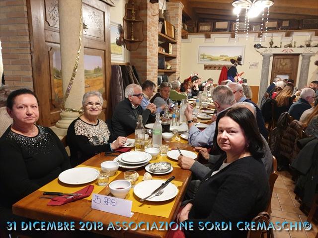 31 Dicembre 2018 Associazione Sordi Cremaschi9