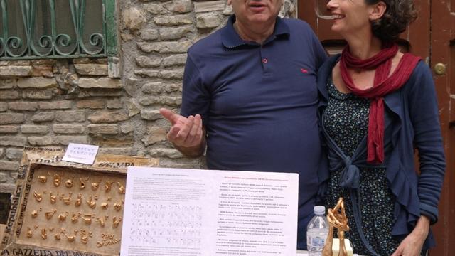 Con Giuditta Cambieri