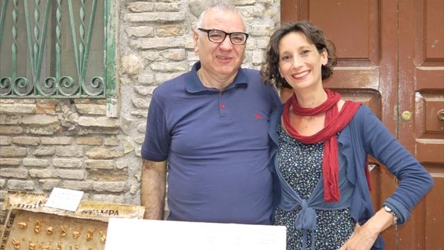 Con Giuditta Cambieri (2)